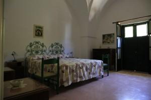 Camera da letto matrimoniale di un appartamento