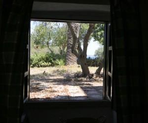 Vista dall'interno di un appartamento